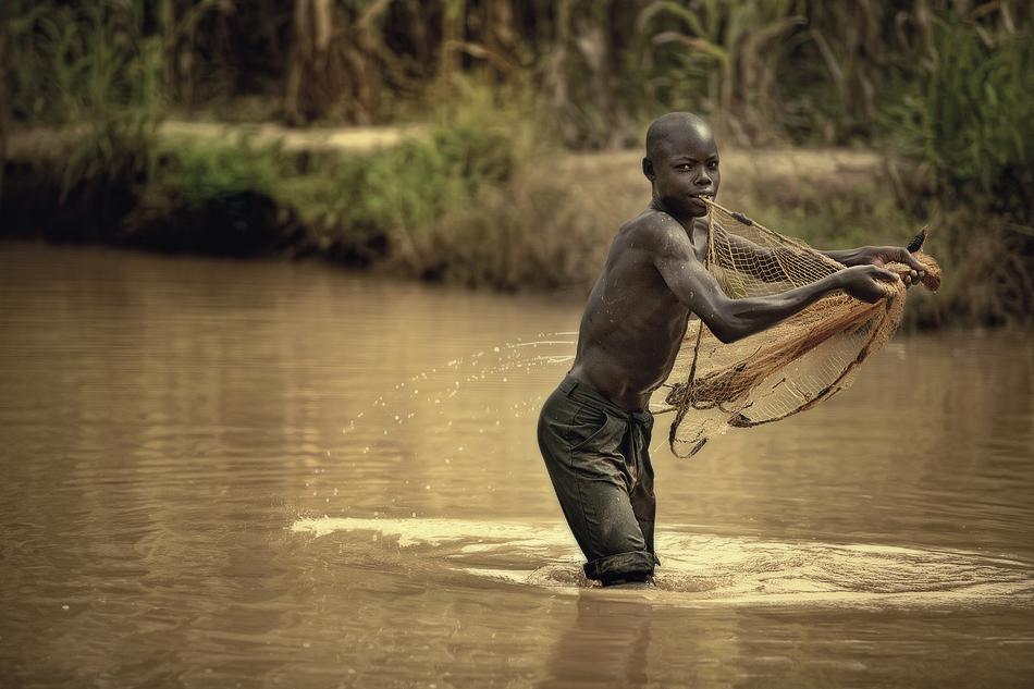 El pescador 1. - Burkina Faso - MVilches , Fotográfia