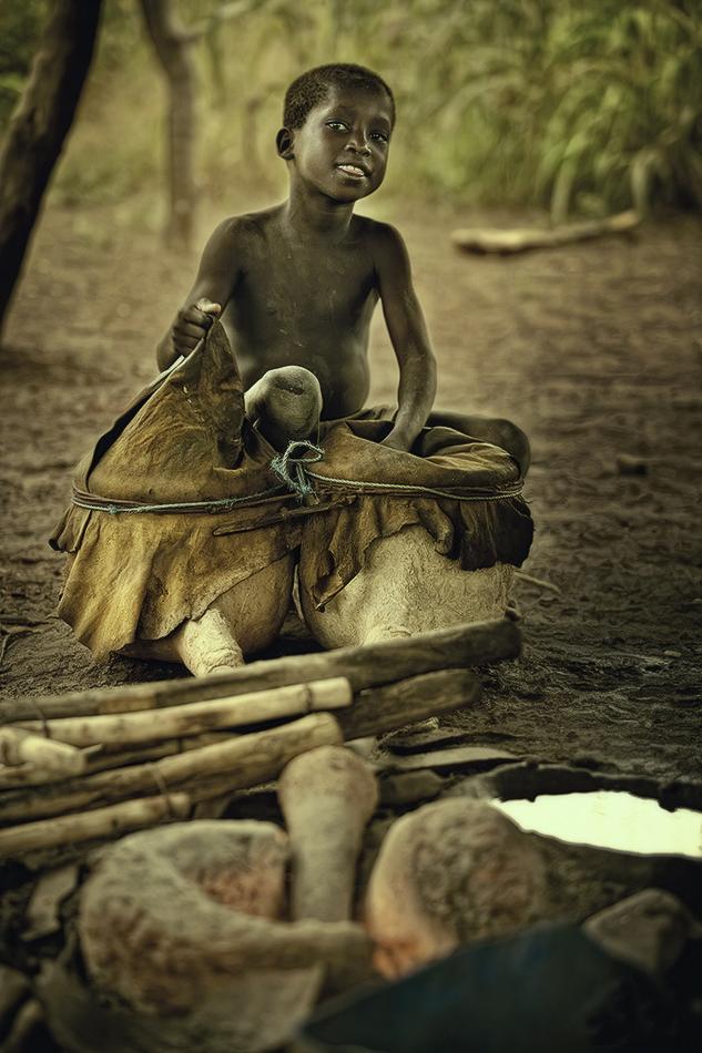 Pequeño herrero. - Burkina Faso - MVilches , Fotográfia
