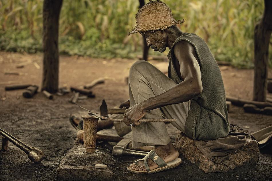 Herrero de Boala. - Burkina Faso - MVilches , Fotográfia