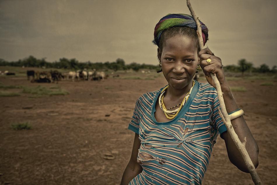 Chica Peul. - Burkina Faso - MVilches , Fotográfia