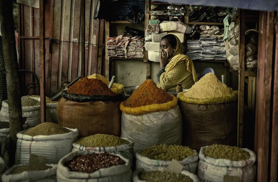 Bahir Dar, Ethiopia. - Mercados del Mundo - MVilches , Fotográfia