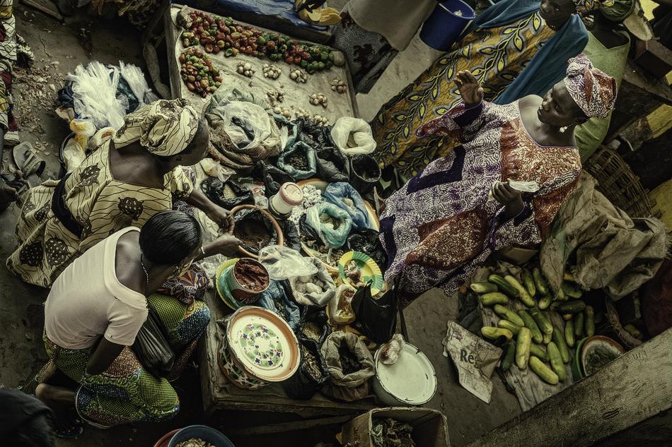 Mercado de Mopti, Malí. - Mercados del Mundo - MVilches , Fotográfia