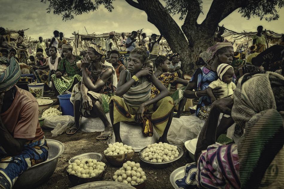 Meracdo de Karite, Burkina Faso. - Mercados del Mundo - MVilches , Fotográfia