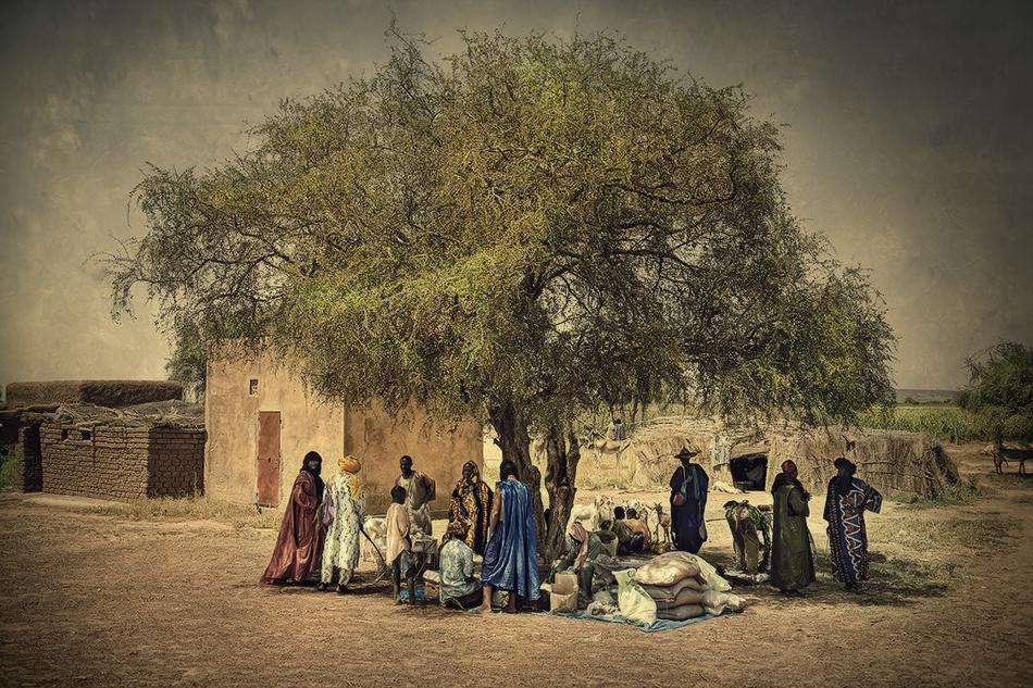 Mercado Tuareg, Malí. - Mercados del Mundo - MVilches , Fotográfia
