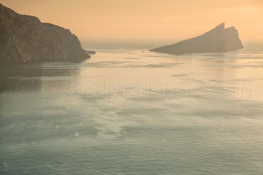 Isla de la Dragonera, Andratx, Mallorca - Dragonera island, Andratx, Majorca - From a Bird´s Eye