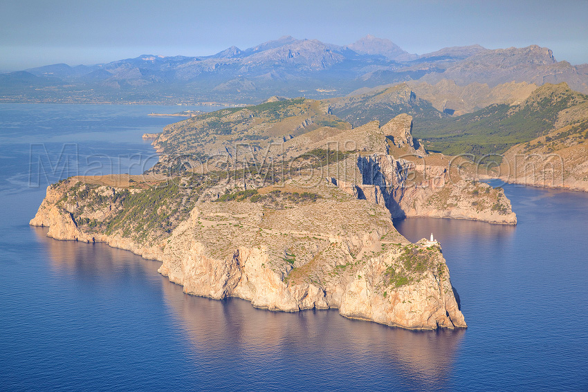 Cabo de Formentor, Pollensa, Mallorca - Formentor cape, Pollensa, Majorca - From a Bird´s Eye