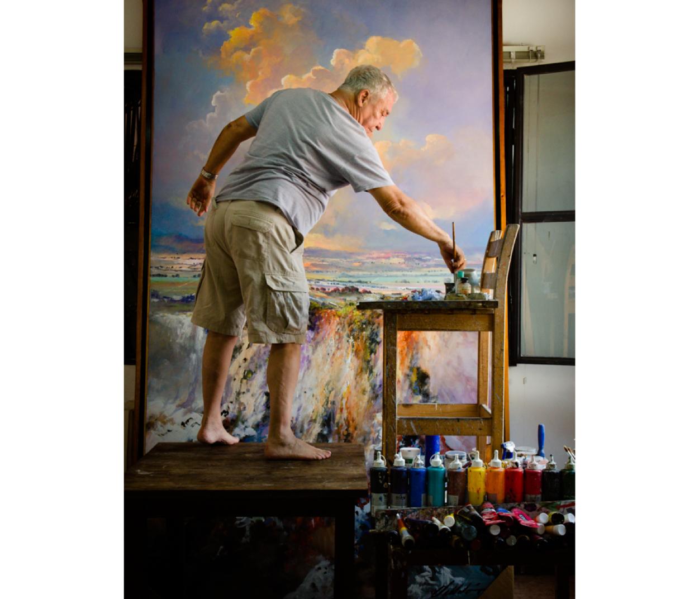 Armando Villalón - Pintor  - Retratos - Marhú Mc Cormick - Fotografía de retratos