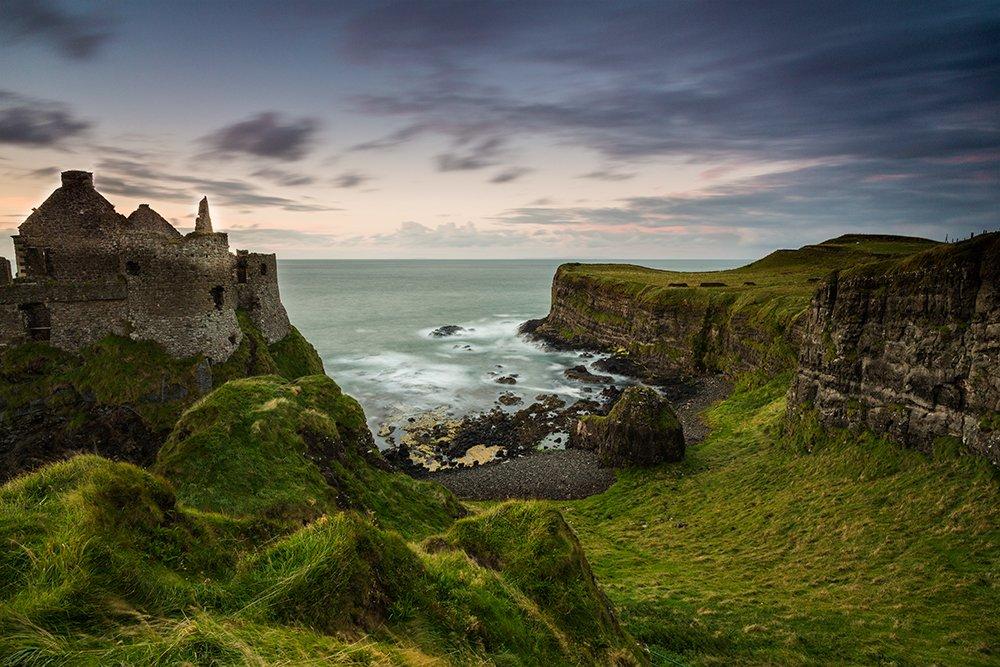 Dunluce Castle - Marilar Irastorza, Photography
