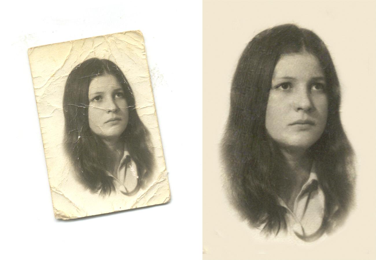 Desde una antiguo retrato - Restauraciones - Marlo, Fotógrafos