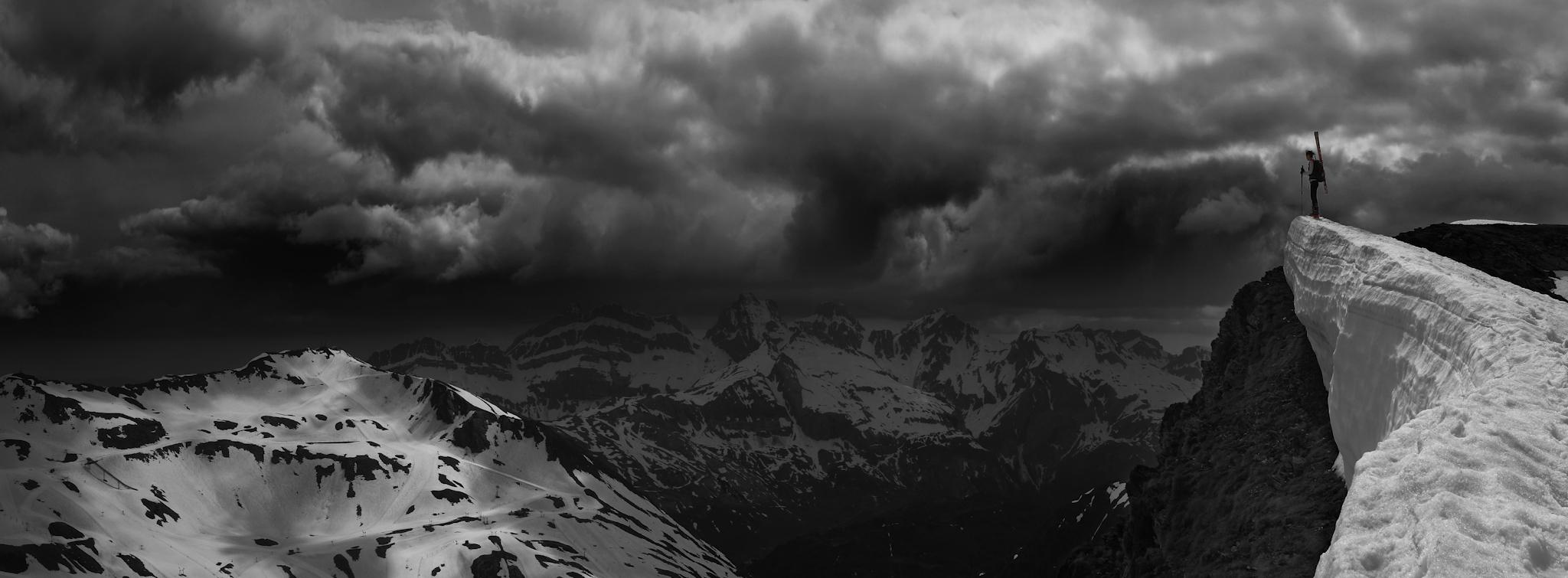 Panorámica Astún y Candanchú - Paisajes del valle - Fotos del Valle del Aragón, Mikel Besga