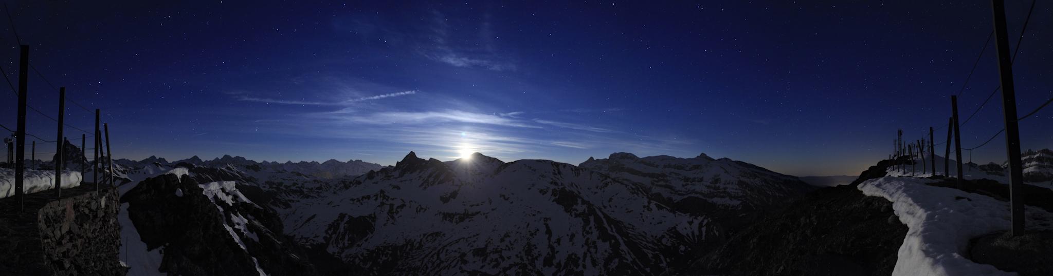 Panoramica desde La Raca - Astún - Fotos del Valle del Aragón, Mikel Besga