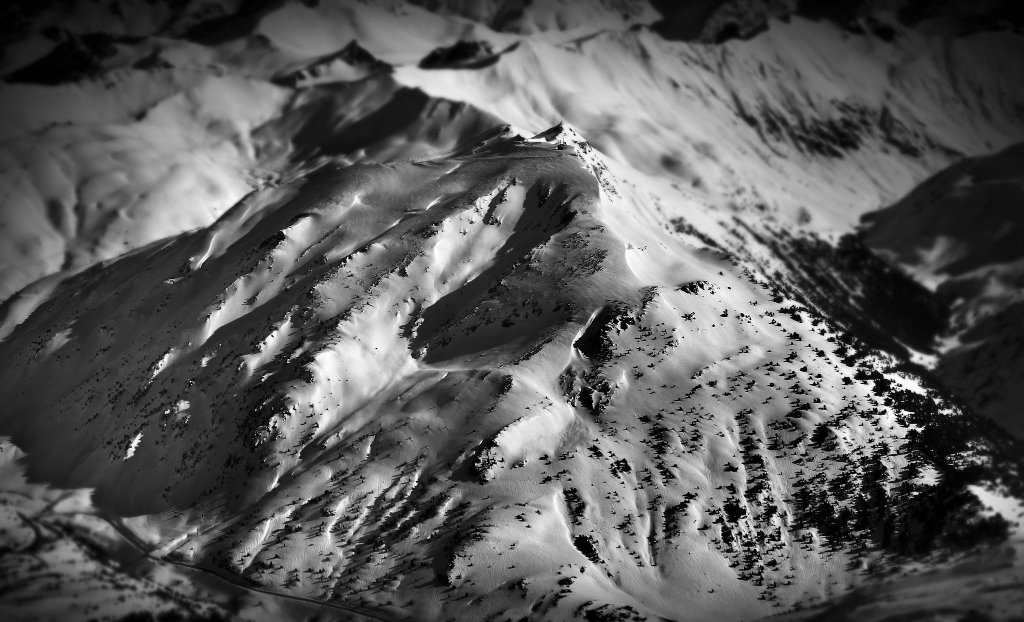 La Raca desde el aire - Astún - Fotos del Valle del Aragón, Mikel Besga