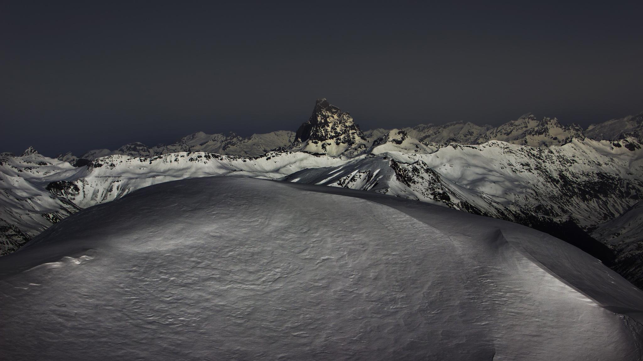 MIdi d'Ossau desde el Corredor de los Navarros - Midi d´Ossau - Fotos del Valle del Aragón, Mikel Besga