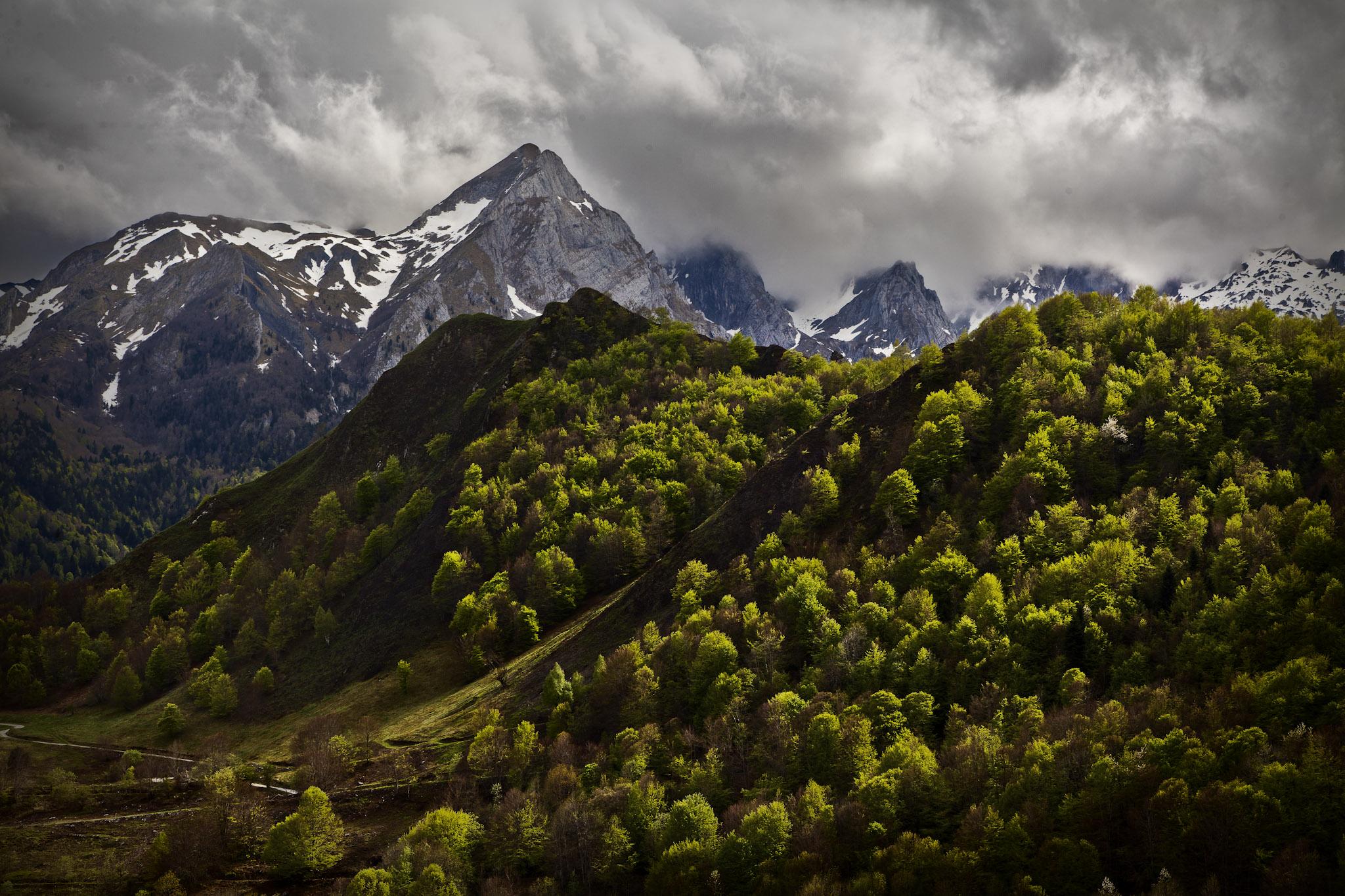 Valle de Lescun - Vallée d´Aspe - Fotos del Valle del Aragón, Mikel Besga