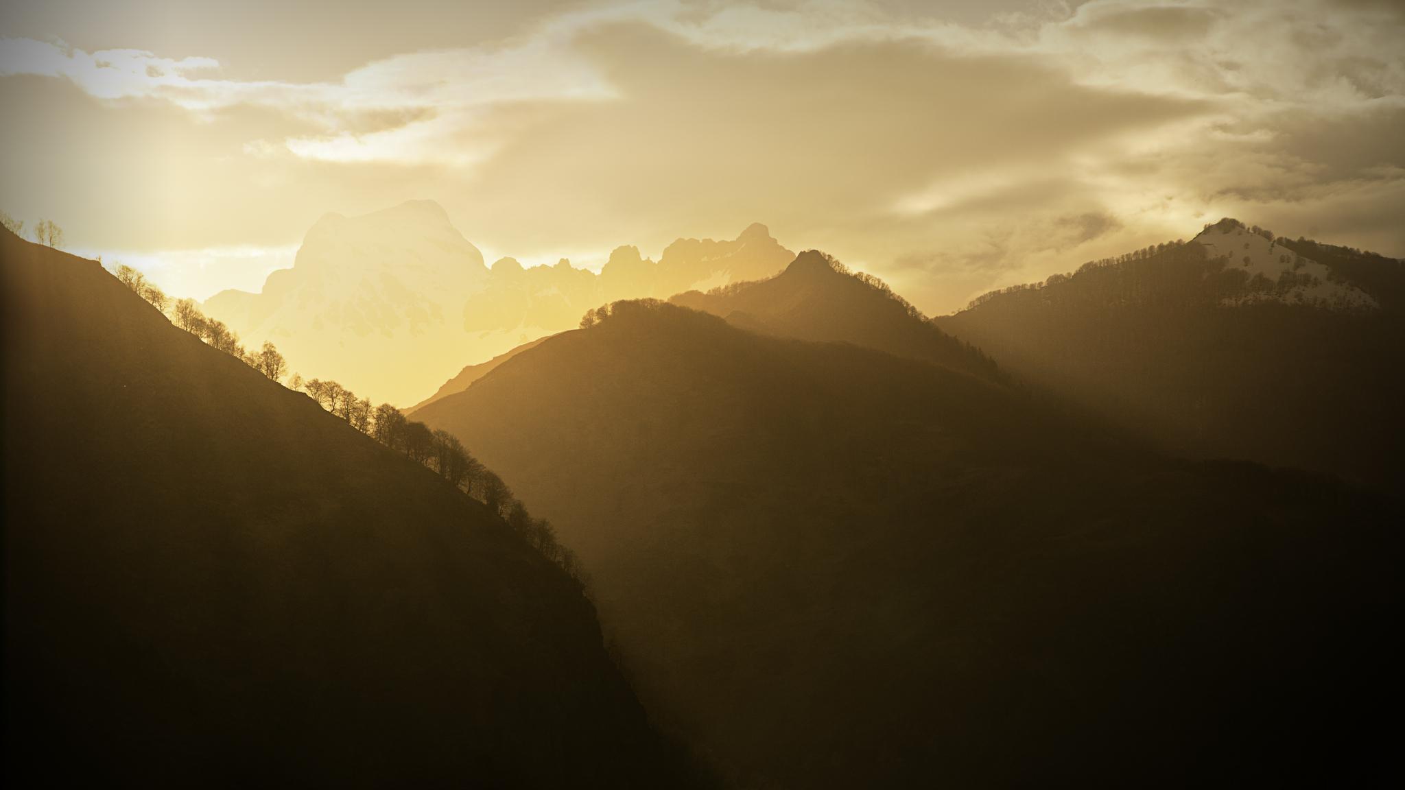 Anie desde Cette - Vallée d´Aspe - Fotos del Valle del Aragón, Mikel Besga