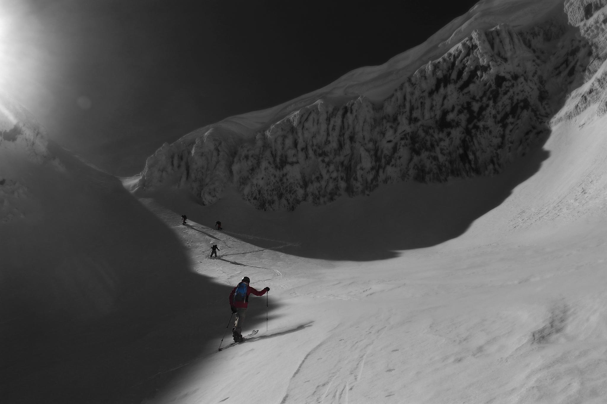 Corredor de los Navarros, Javi Besga - Ski & Snowboard - Fotos del Valle del Aragón, Mikel Besga