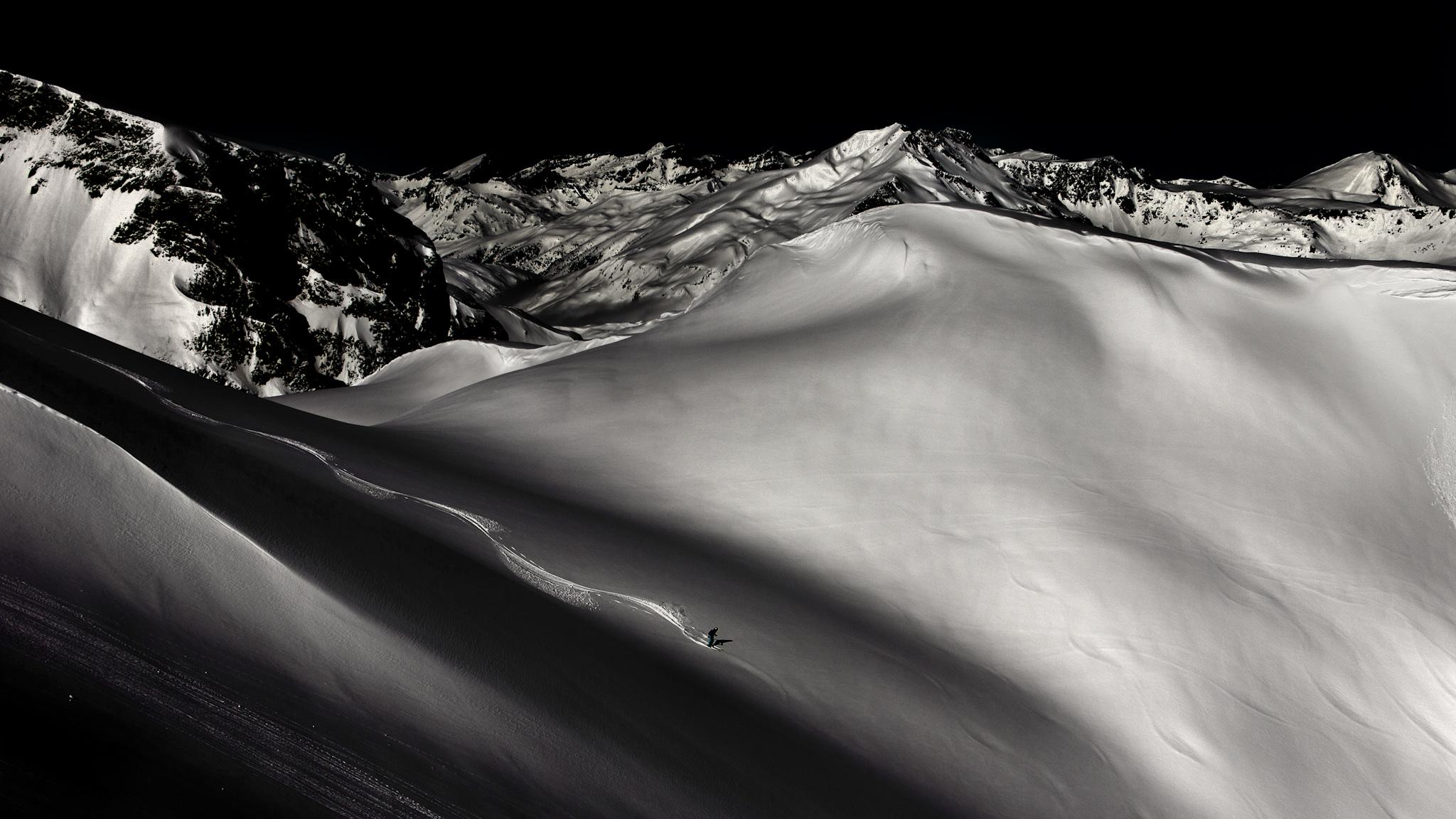 Loma Verde, Marta Hekneby - Ski & Snowboard - Fotos del Valle del Aragón, Mikel Besga