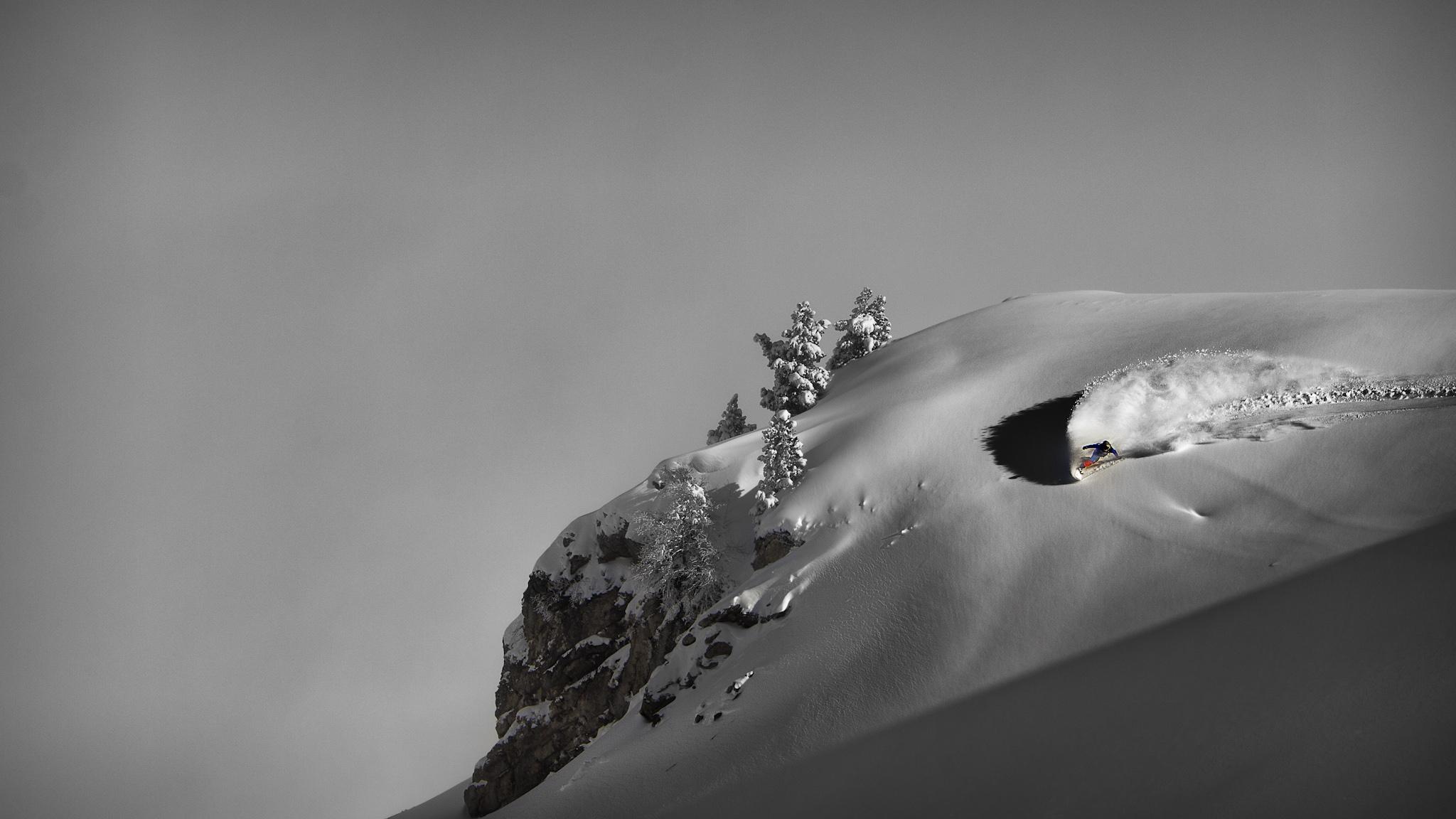 Cono de La Zapatilla, Ekaitz Isasi - Ski & Snowboard - Fotos del Valle del Aragón, Mikel Besga