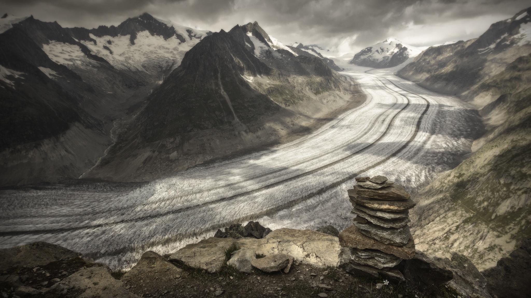Glaciar Aletsch 2 - Otras montañas - Fotos del Valle del Aragón, Mikel Besga