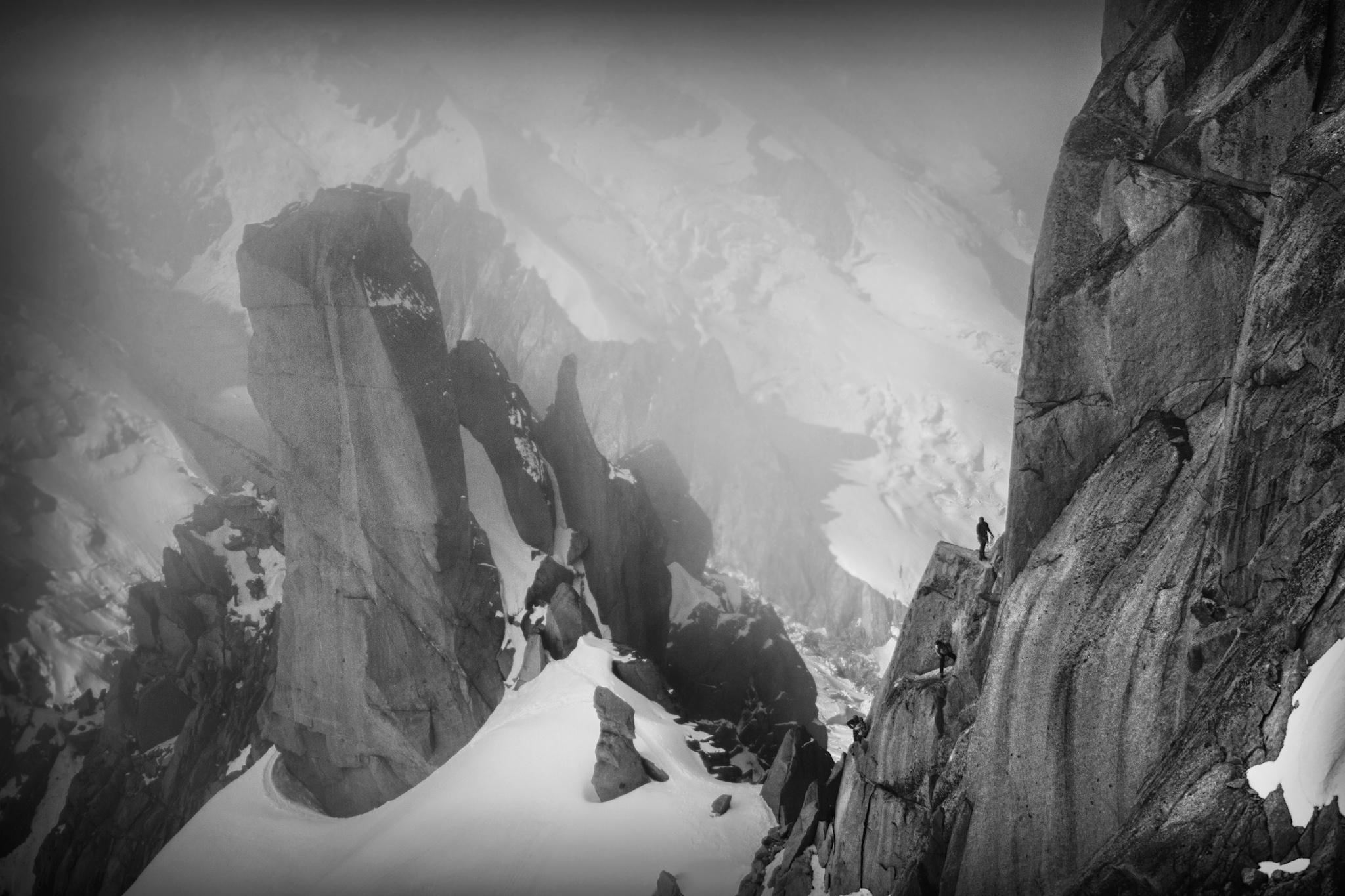 Arista de Cosmiques, Aiguille du Midi - Otras montañas - Fotos del Valle del Aragón, Mikel Besga