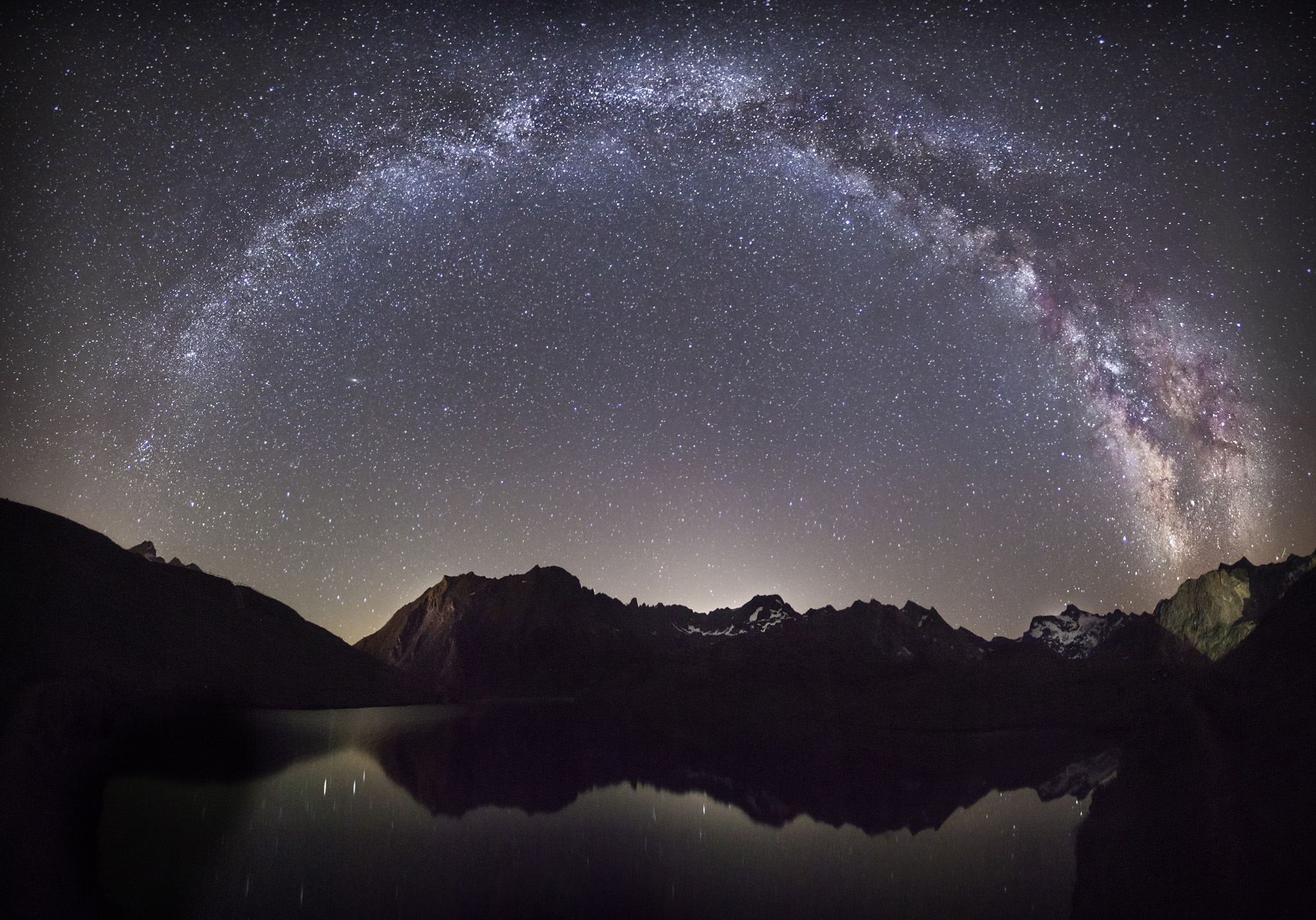 Lac de L'Ouillette, Val d'Isere - Otras montañas - Fotos del Valle del Aragón, Mikel Besga