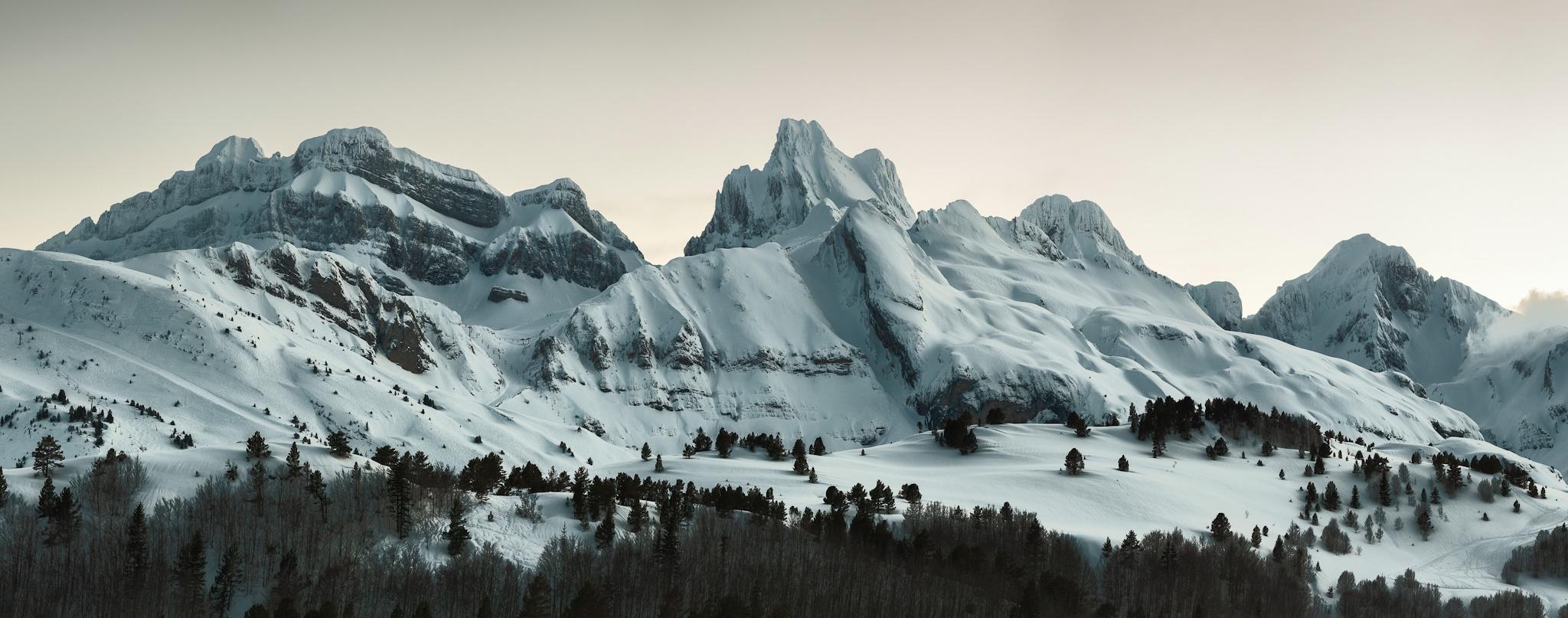 Panoramica desde la frontera - Paisajes del valle - Fotos del Valle del Aragón, Mikel Besga