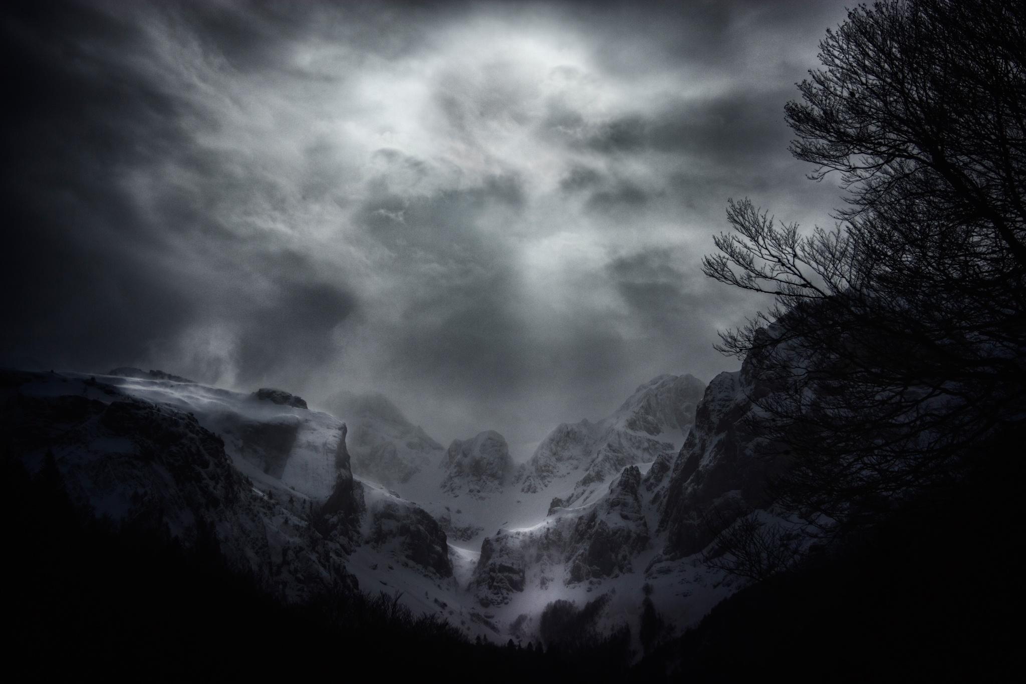 La Chorrota del Aspe - Paisajes del valle - Fotos del Valle del Aragón, Mikel Besga