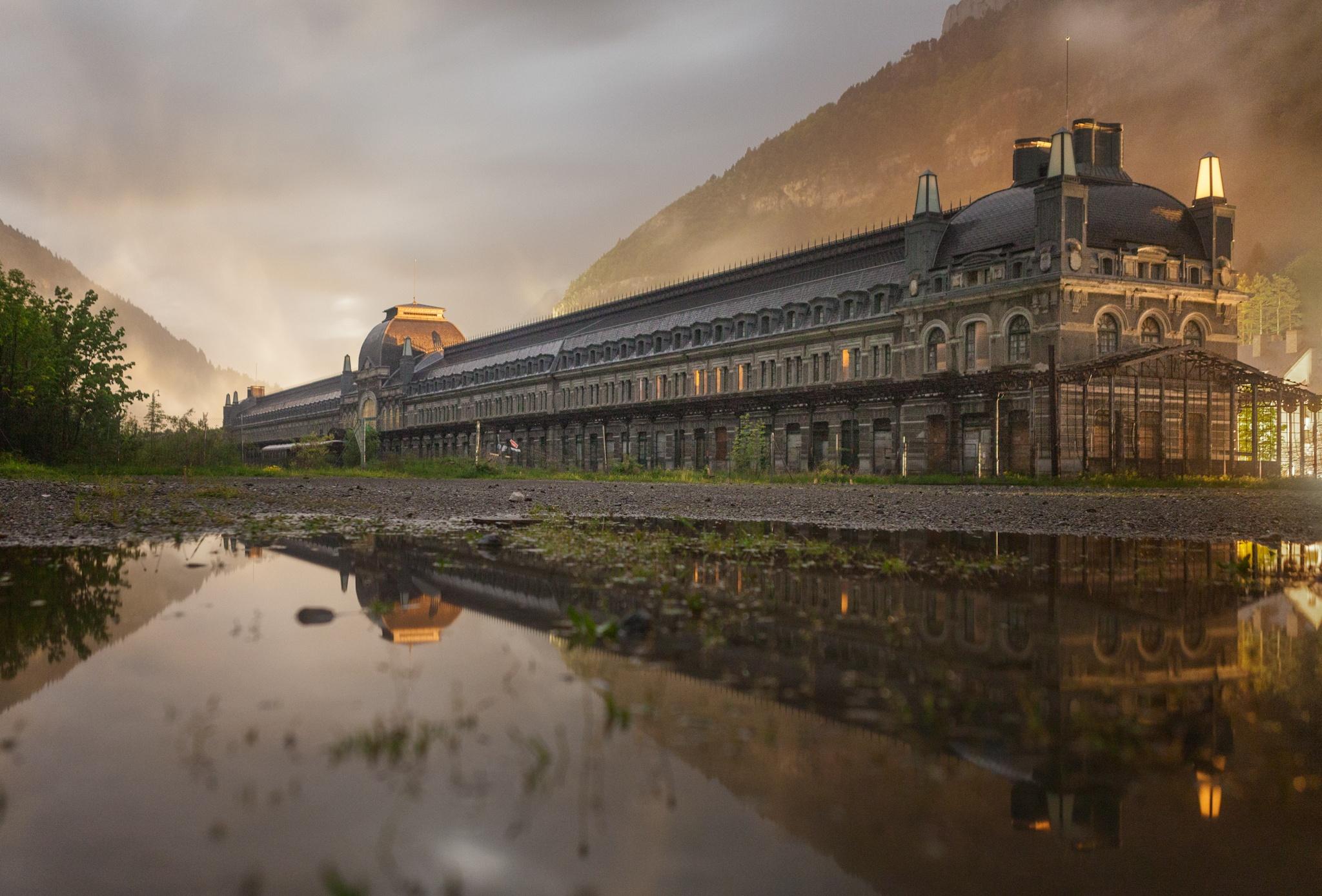 Estación de Canfranc - Fotos del Valle del Aragón, Mikel Besga