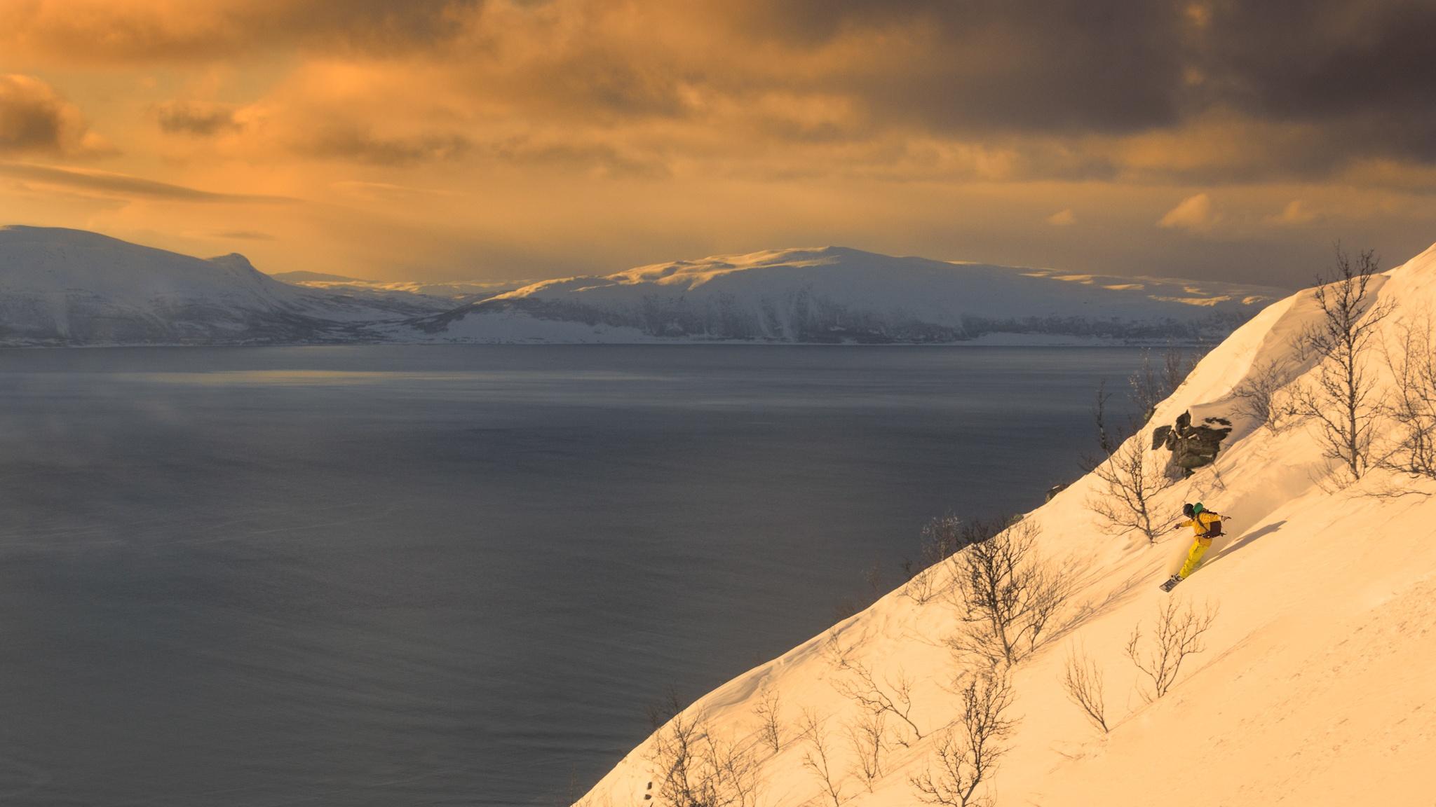 Lyngen Alps, Ricardo Diaz - Ski & Snowboard - Fotos del Valle del Aragón, Mikel Besga