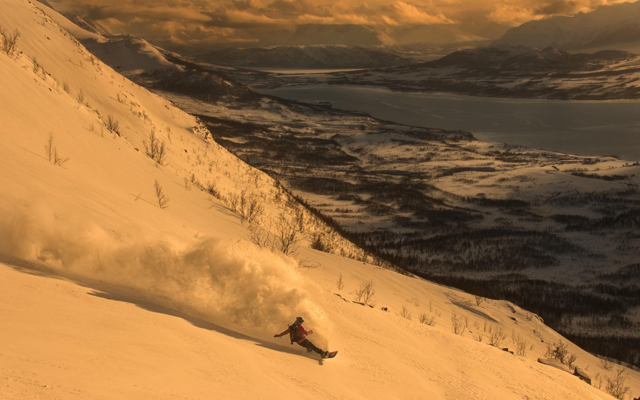 Lyngen Alps, Javi Besga - Ski & Snowboard - Fotos del Valle del Aragón, Mikel Besga