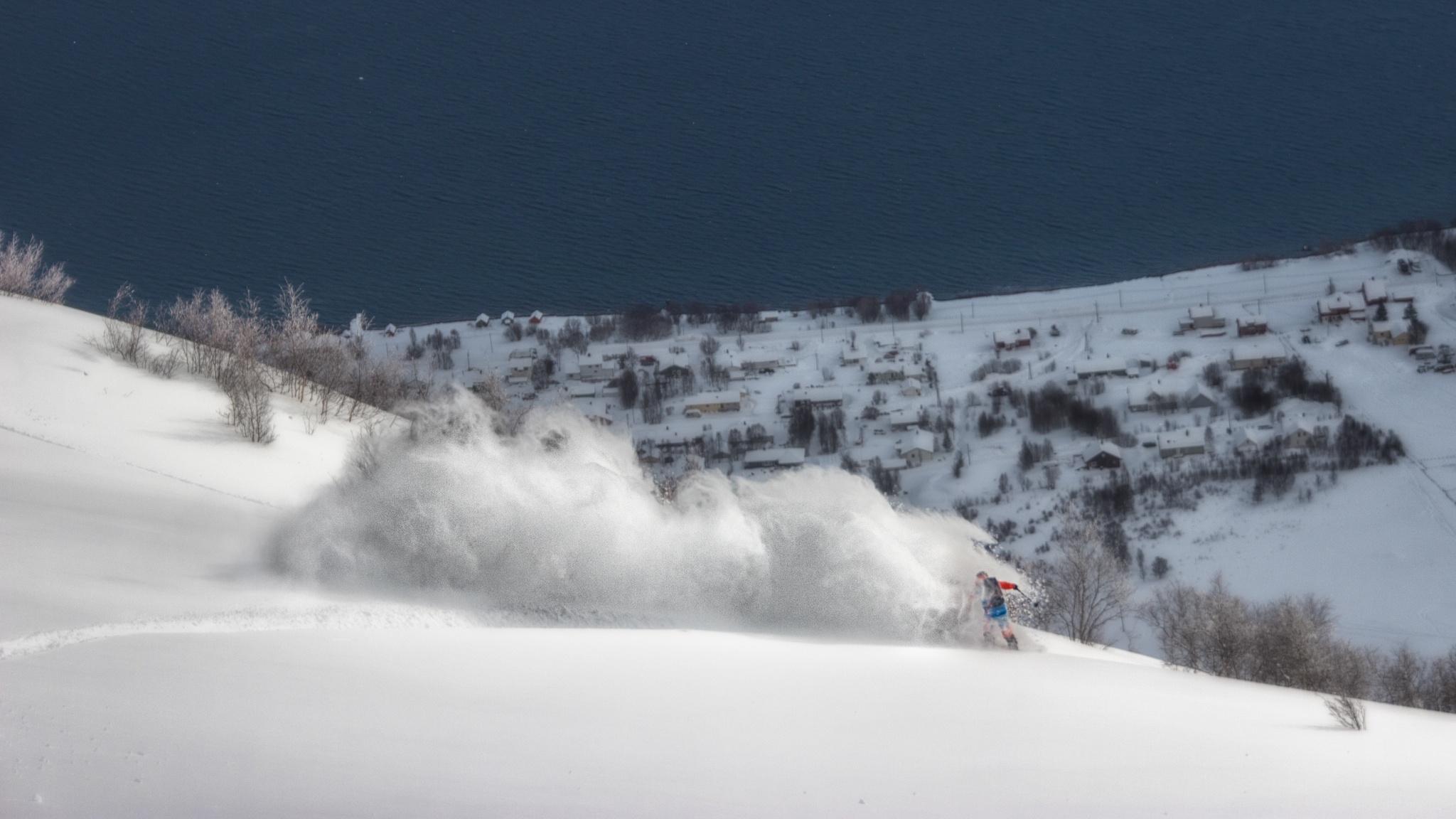 Lyngen Alps, Ekaitz Isasi - Ski & Snowboard - Fotos del Valle del Aragón, Mikel Besga
