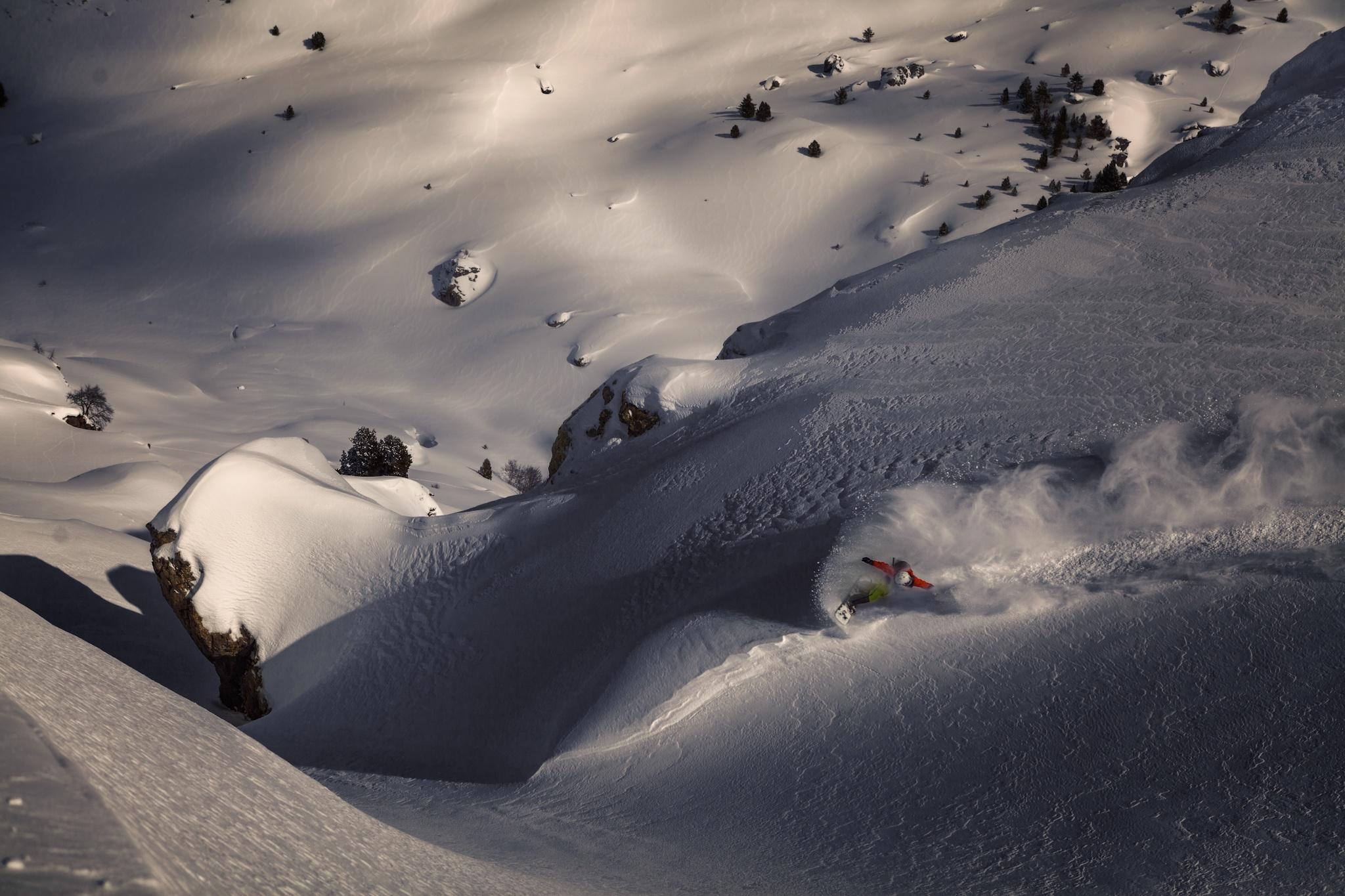 Loma Verde, Ekaitz Isasi - Ski & Snowboard - Fotos del Valle del Aragón, Mikel Besga
