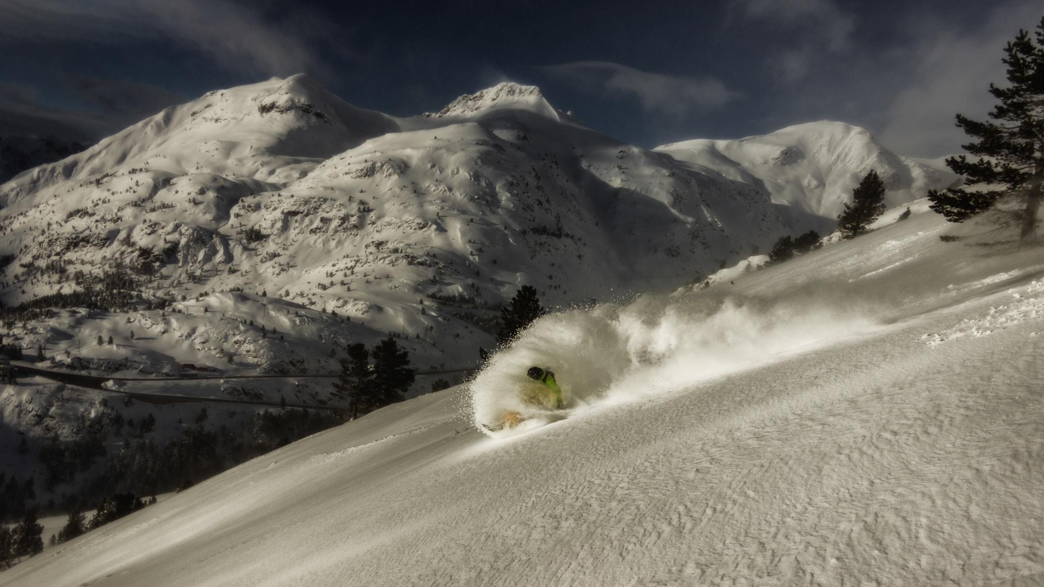 La Raca, Dani Rodriguez - Ski & Snowboard - Fotos del Valle del Aragón, Mikel Besga