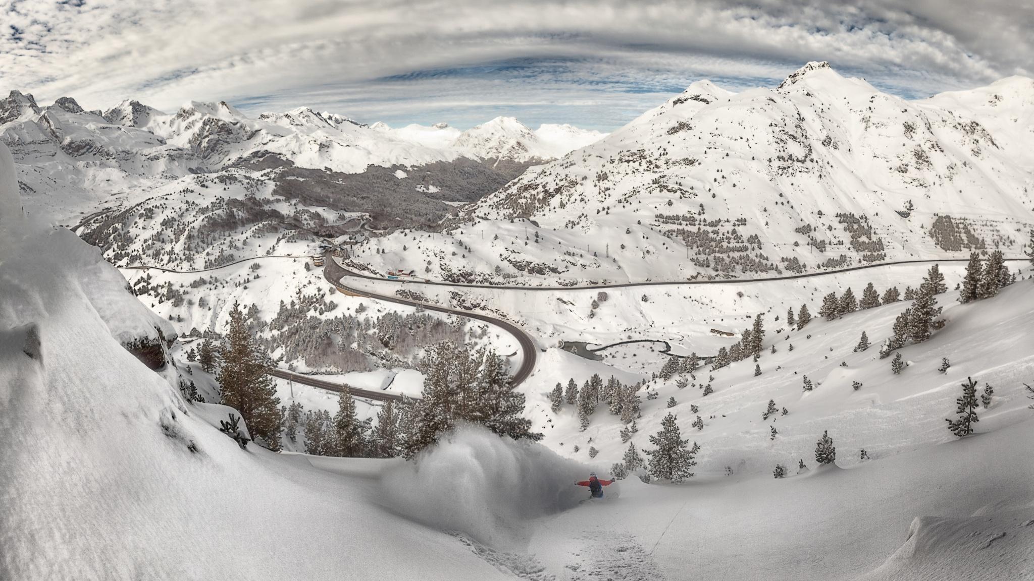 La Raca, Ekaitz Isasi - Ski & Snowboard - Fotos del Valle del Aragón, Mikel Besga