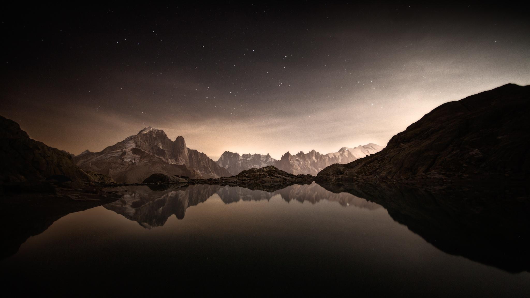 Lac Blanc, Chamonix - Otras montañas - Fotos del Valle del Aragón, Mikel Besga