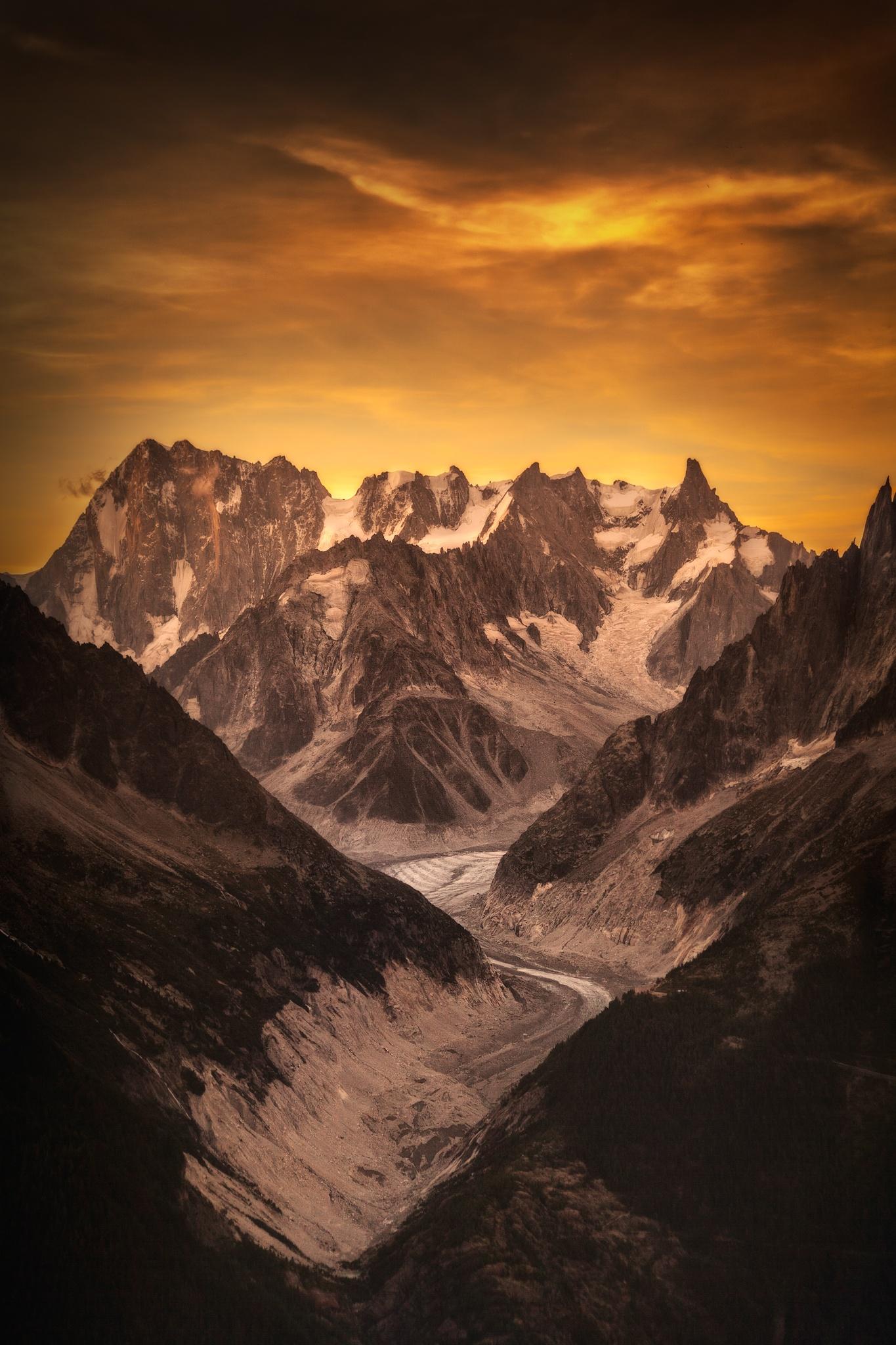 Mer de Glace, Chamonix - Otras montañas - Fotos del Valle del Aragón, Mikel Besga