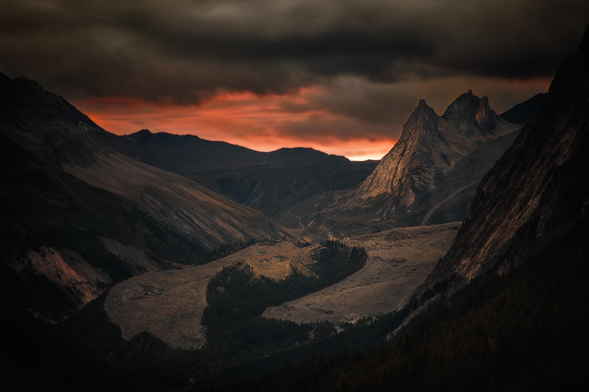 Glaviar de Miage, Courmayeur - Otras montañas - Fotos del Valle del Aragón, Mikel Besga