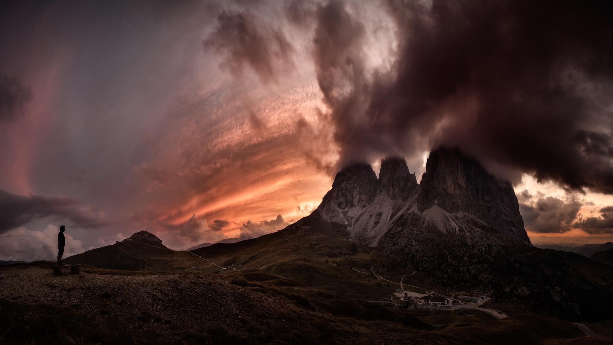 Passo Sella, Dolomitas - Otras montañas - Fotos del Valle del Aragón, Mikel Besga