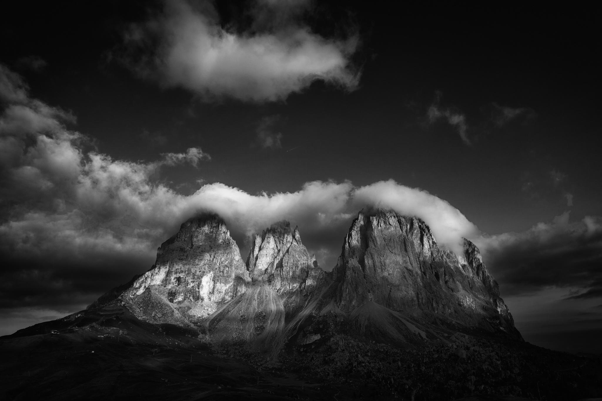 Sassolungo, Dolomitas - Otras montañas - Fotos del Valle del Aragón, Mikel Besga