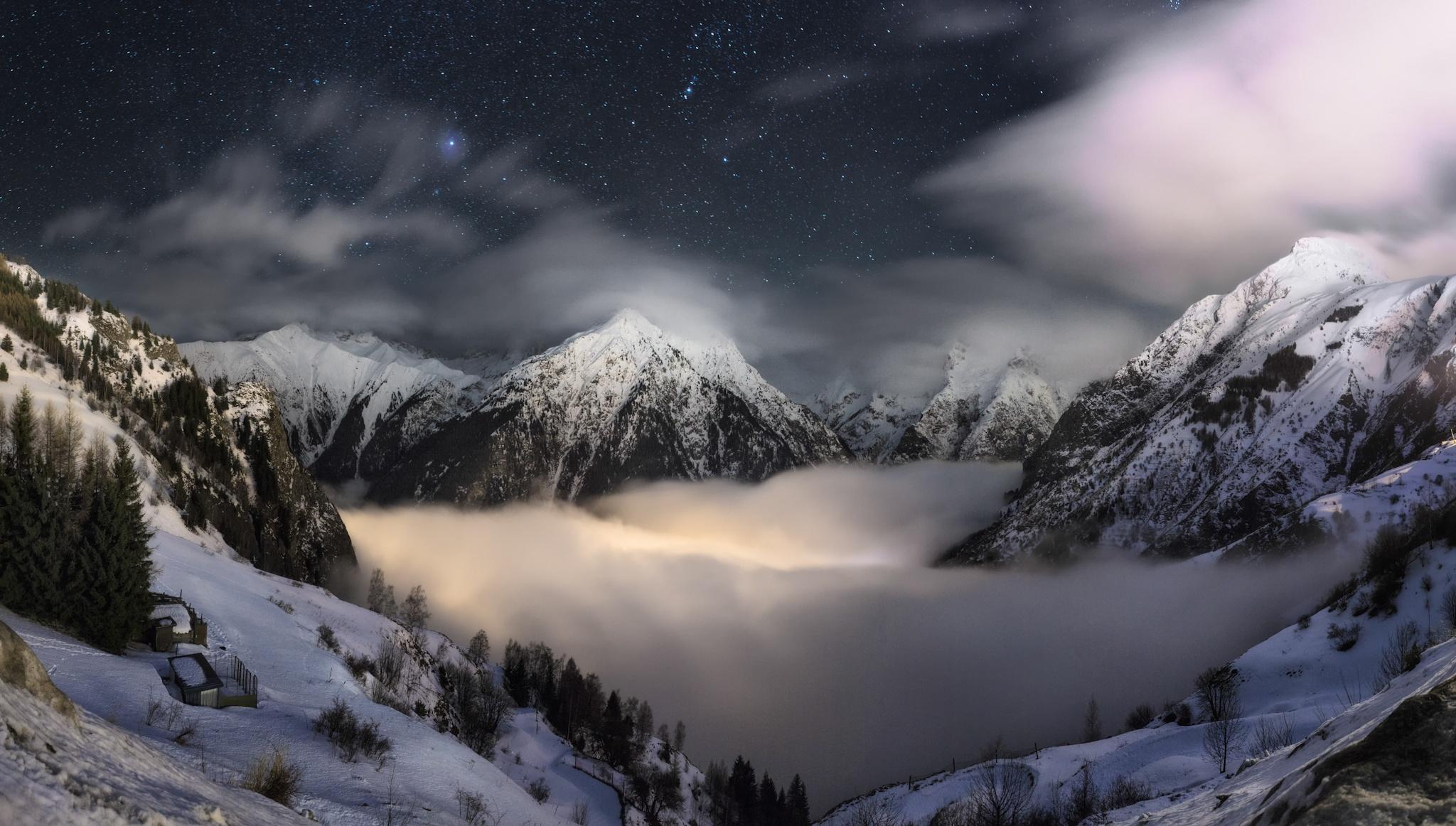 Vallée du Vénéon, Alpes franceses - Otras montañas - Fotos del Valle del Aragón, Mikel Besga