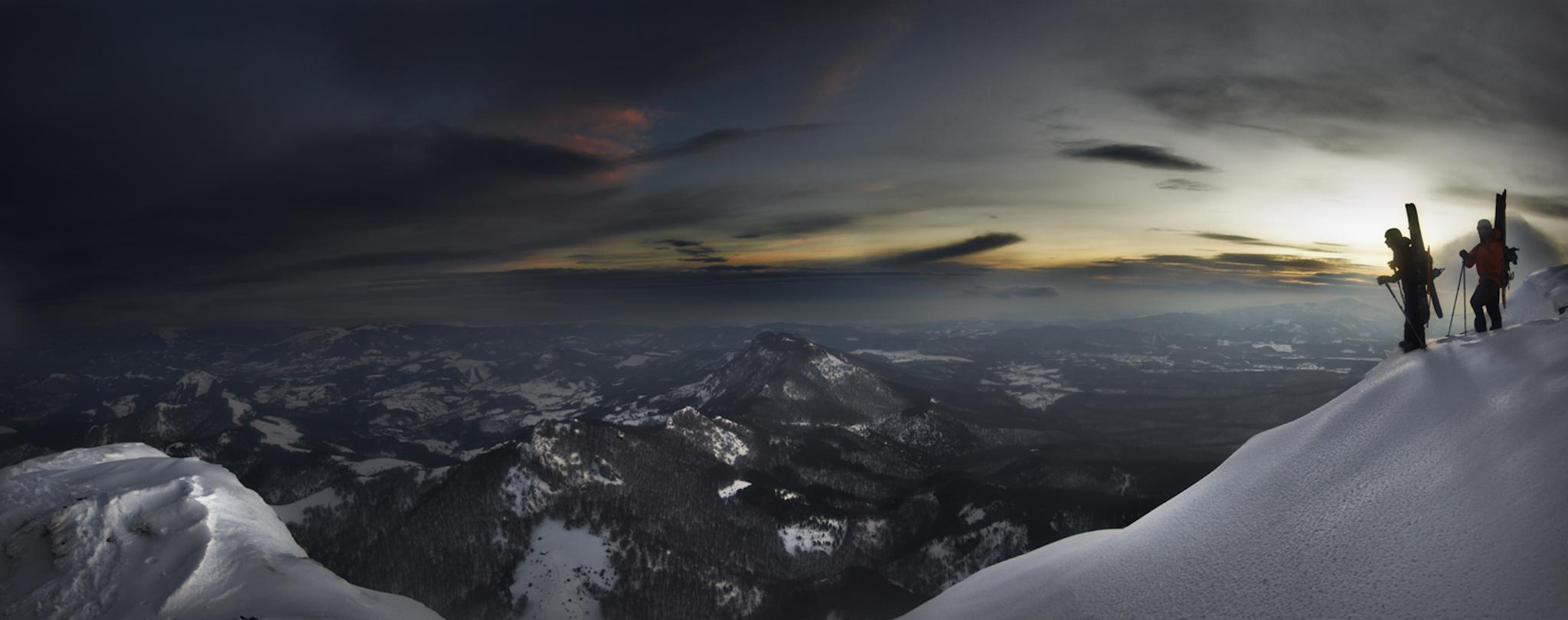 Anboto, Iosu Juaristi y Ekaitz Isasi - Ski & Snowboard - Fotos del Valle del Aragón, Mikel Besga