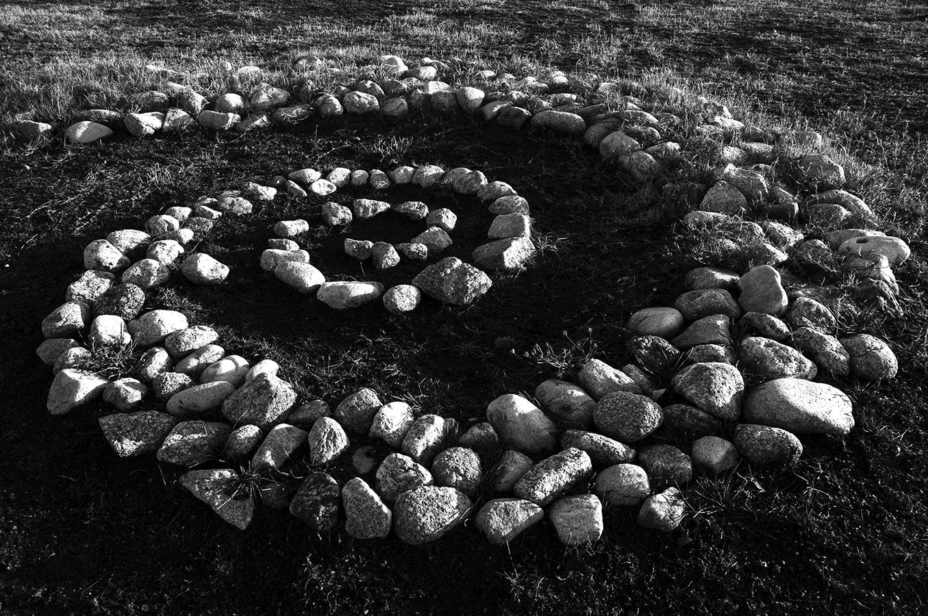 Piedras geométricas | 2011 | A Coruña, España - Geometric rocks | 2011 | A Coruña, Spain - Miguel Naya | Photography