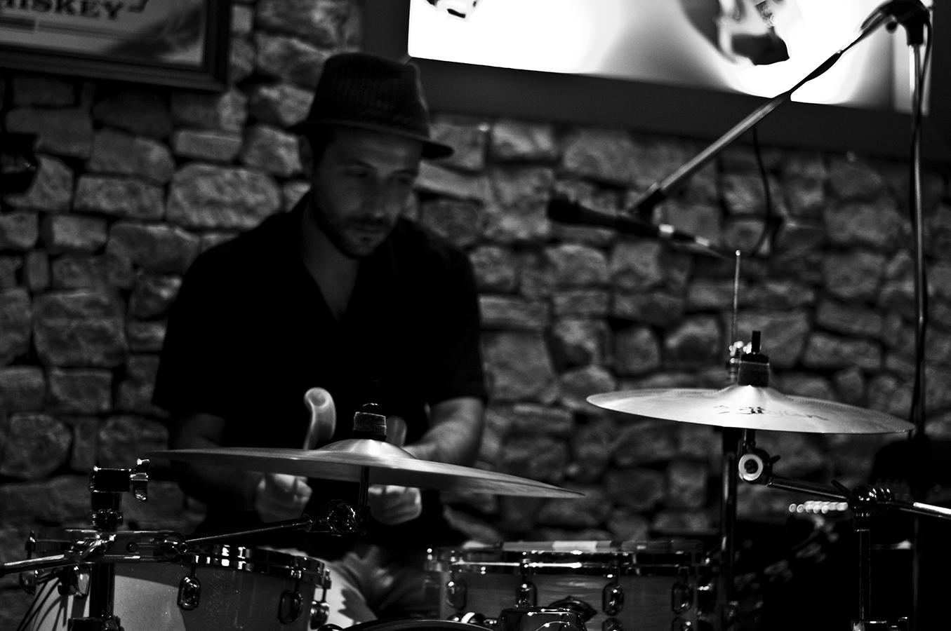 Batería - Martini Boys | 2010 | Mallorca, España - Drummer - Martini Boys | 2010 | Mallorca, Spain - Miguel Naya | Photography