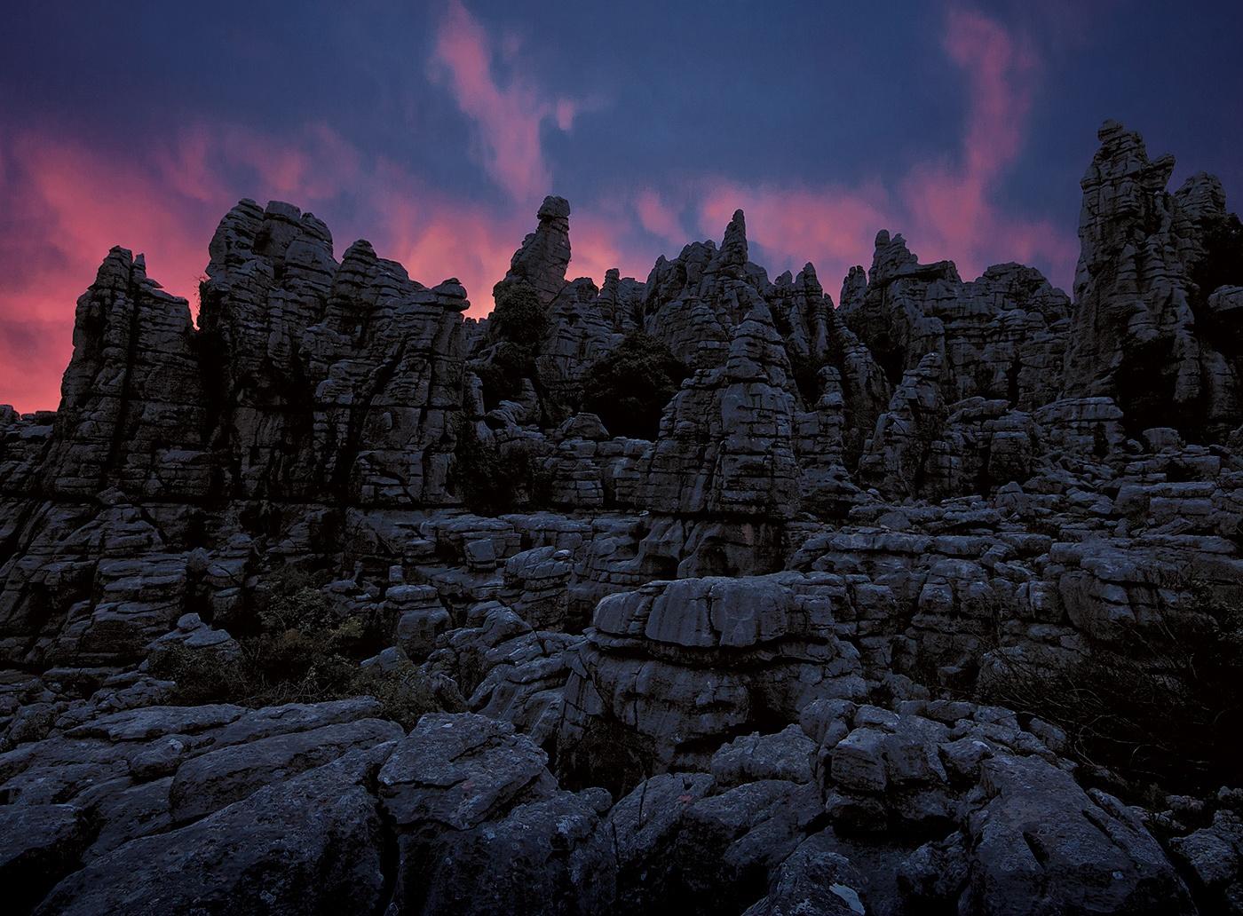 Valle Genal - Phantasmagoric - Peter Manschot Al Andalus Photo Tour, Landscape photography photos prints workshops Andalusia Spain