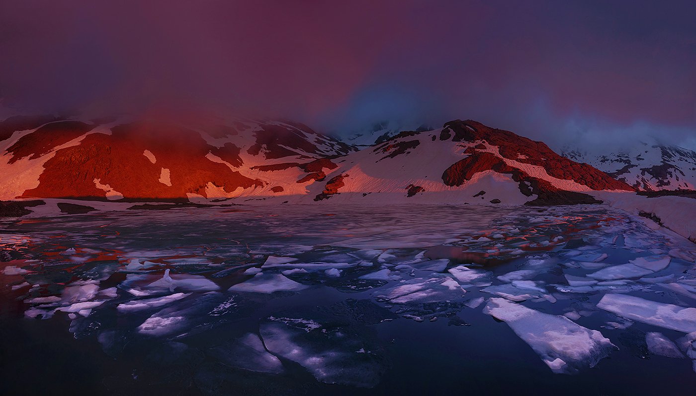 Sierra Nevada - On fire - Peter Manschot Al Andalus Photo Tour, Landscape photography photos prints workshops Andalusia Spain
