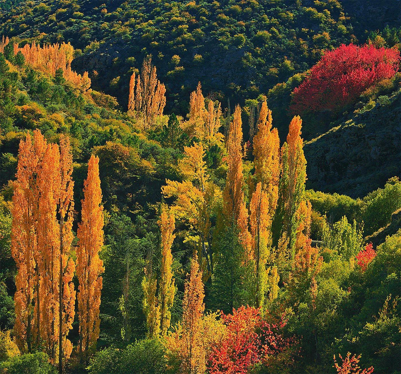 Sierra de Baza - On fire - Peter Manschot Al Andalus Photo Tour, Landscape photography photos prints workshops Andalusia Spain