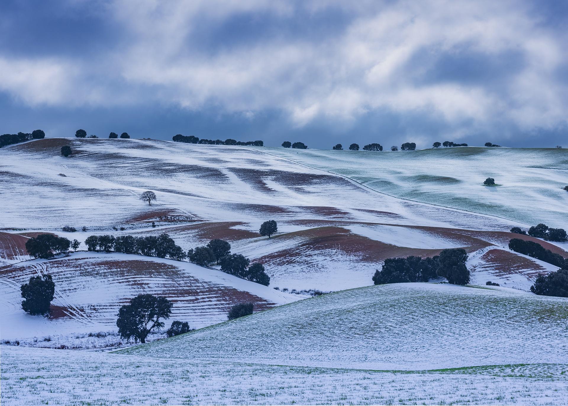 Montes Orientales - Undulations - Peter Manschot Al Andalus Photo Tour, Landscape photography photos prints workshops Andalusia Spain