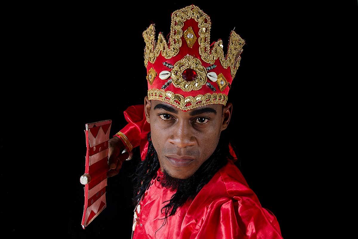 Orishas: slave gods - pictures of cuban gods called orishas, portraits, studio photographs . Cuban photography