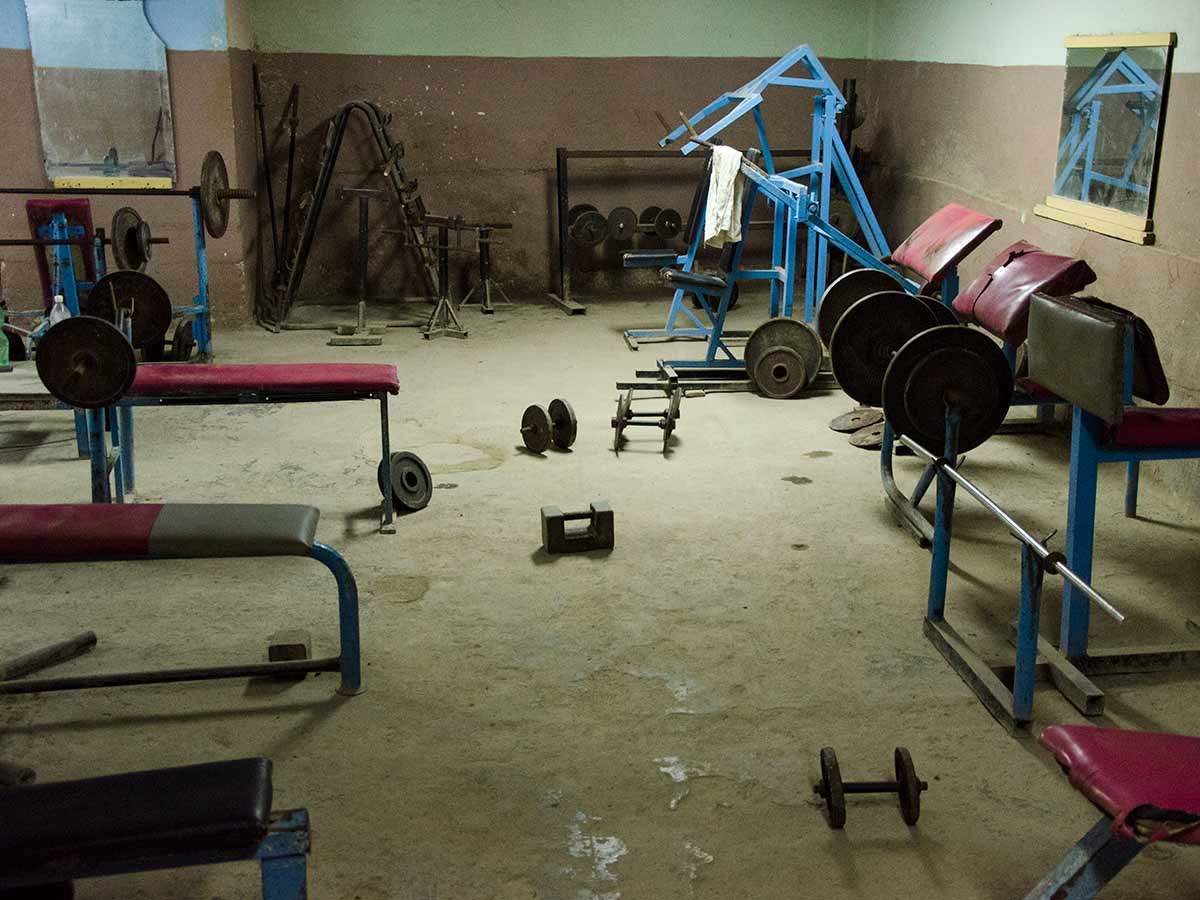 Vintage gym luis alarcón workshops and cuban photography