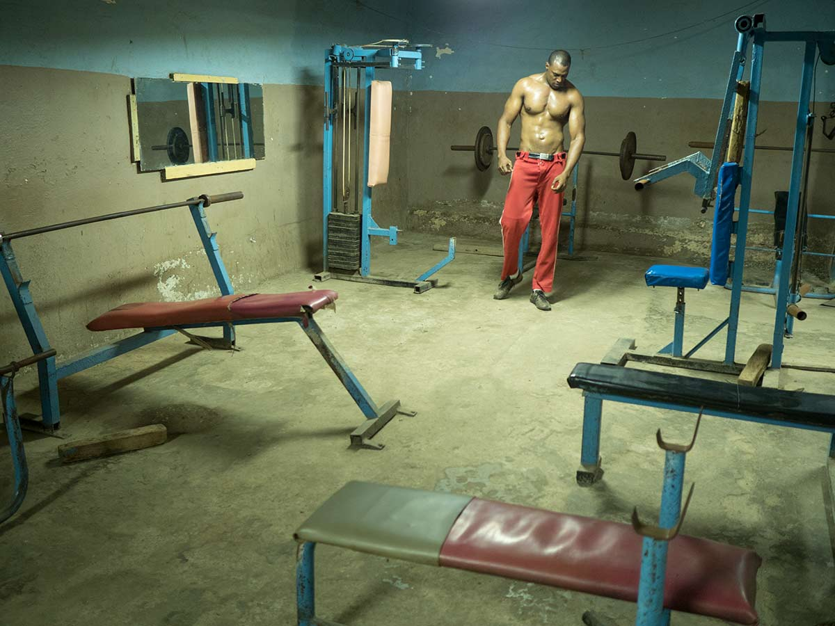 Vintage gym - pictures of cuban gyms, old and vintage cuban gym